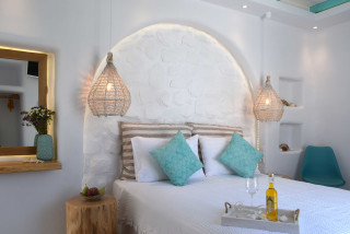 suite 2 with sea views naxian breeze luxurious bedroom