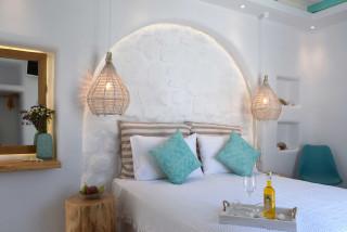 suite 2 with sea views naxian breeze luxurious bedroom
